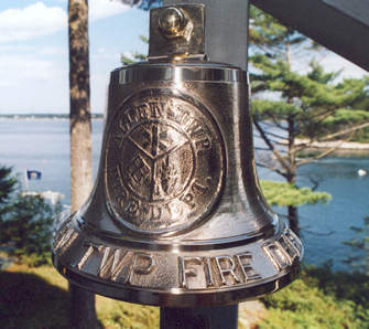 M17, with custom tooling on the bell face and personalized letters around the bell rim