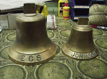Brass origins or models with letters glued on